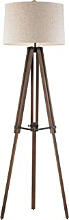 Diamond Lighting D2817-HUE-B Floor lamp, Oil Rubbed Bronze, Walnut