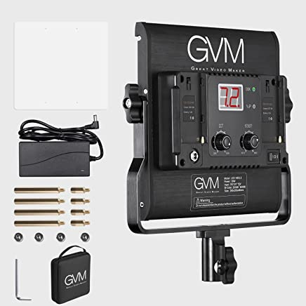 Amazon com: GVM Great Video Maker - Macro & Ringlight