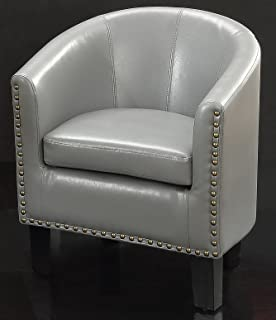 Rosevera Duilio Barrel Chair, grey
