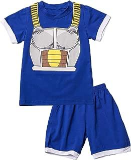 Mutiggee Kids Halloween Outfits Little Boy Costume Funny Short Set