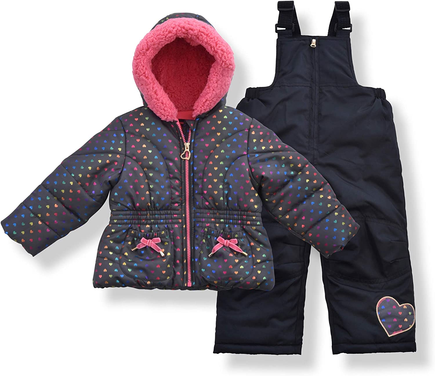 Gifts Arctic Quest Infant Toddler Max 87% OFF and Little Puf Girls Suit Snow with
