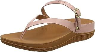 Womens Flip Leather Back-Strap Sandal