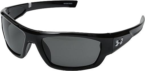 Shiny Black/Charcoal Gray/Gray Lens