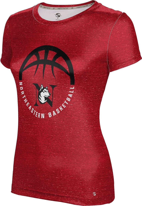 ProSphere Northeastern University Basketball Girls' Performance T-Shirt (Heather)