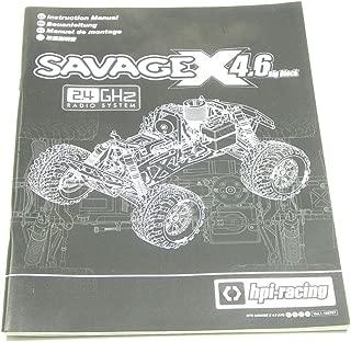 Buengna HPI Racing Savage X 4.6 Big Block Owners Manual 109525