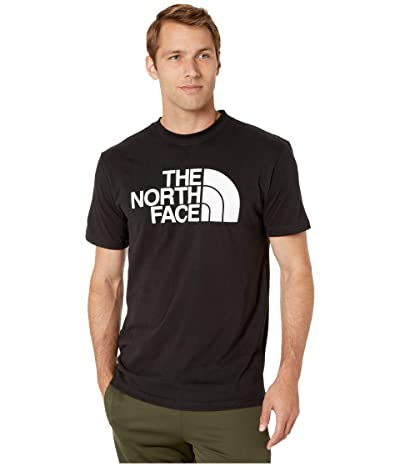 The North Face Short Sleeve Half Dome T-Shirt (TNF Black/TNF White) Men