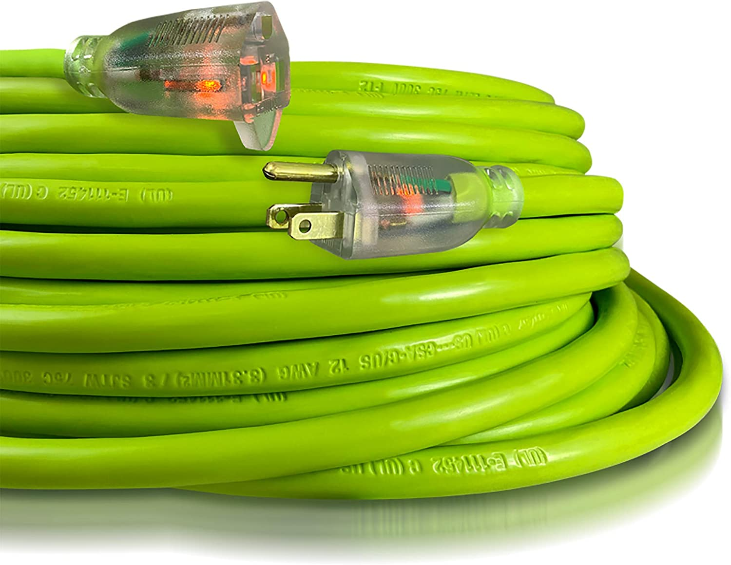 USW 12 3 100ft Washington Mall Cold Weather Extension Lighted Plugs 2 Popular shop is the lowest price challenge Cord with