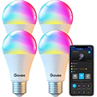 4-Pack Govee Smart Light Bulbs Deals