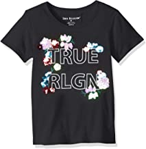 True Religion Girls' Big Fashion Short Sleeve Tee Shirt