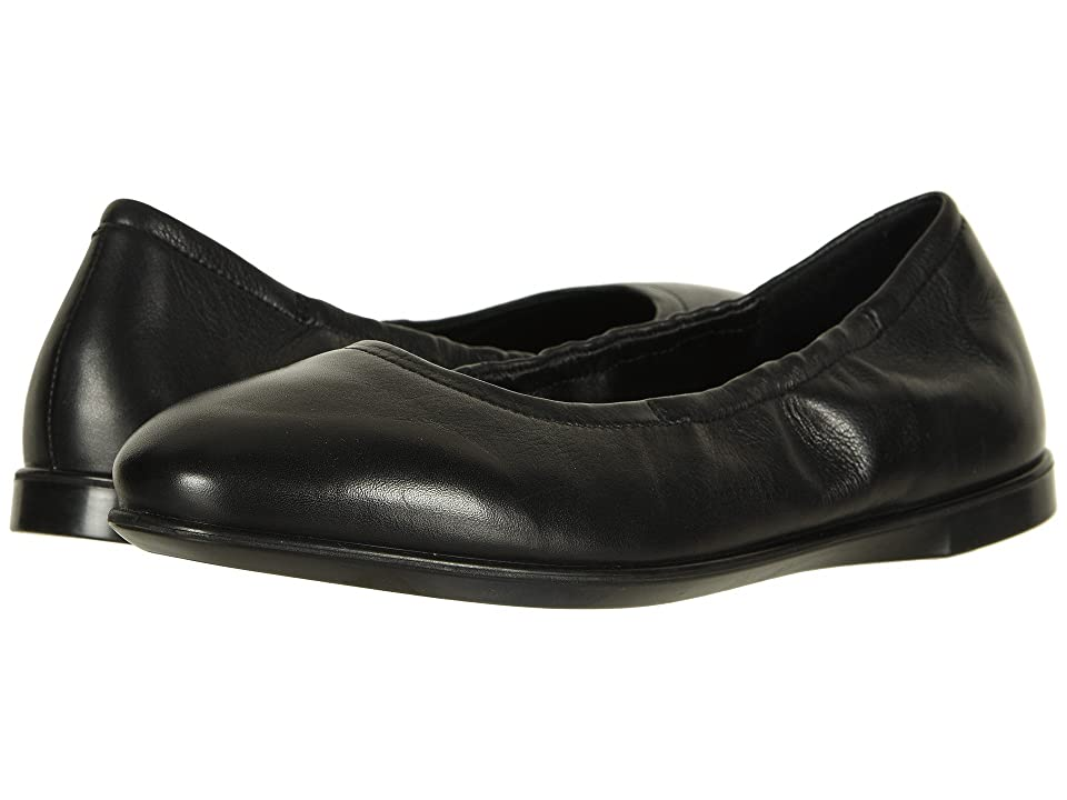 ECCO Incise Enchant Ballerina (Black Calf Leather 2) Women