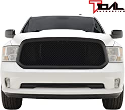 Tidal Mesh Grille ABS Replacement Matte Black for 13-18 Dodge Ram 1500