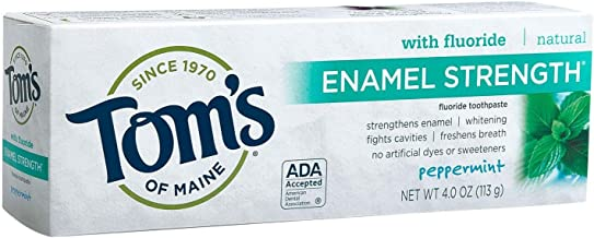 Tom's of Maine Enamel Strength Natural Toothpaste - 4 oz - Peppermint