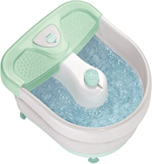Conair Foot/Pedicure Spa with Massaging Bubbles; Includes 3 Attachments