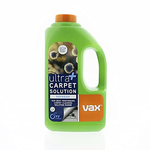 Vax 1.5L Ultra+ Refresh and Revitalise Cleaning Solution, Green