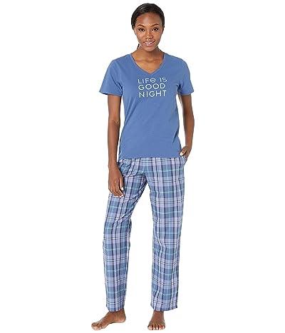 Life is Good Night Snuggle PJ Bundle (Multi) Women