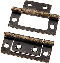 Nologo SSB-JIAJUPJ, 2ST 50x24mm antieke meubels scharnieren kabinet compartiment deur rolband decoratieve kast scharnieren...