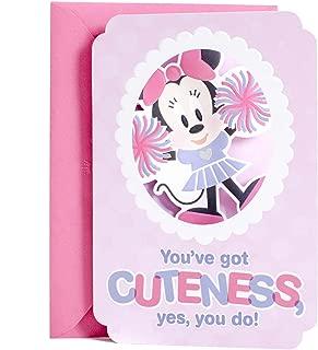 Hallmark Disney Minnie Mouse Birthday Card for Kids (Birthday Sweetness)