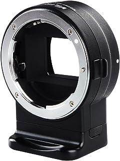 【国内正規代理店・一年保証】 VILTROX NF-E1 電子接点付マウントアダプター Nikon F Mount series lens to Sony E Mount series Body 日本語の保証書・版取扱説明書付