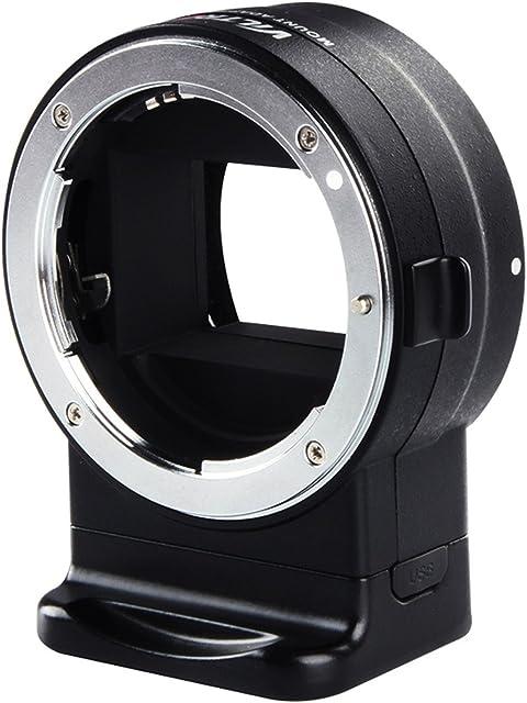 VILTROX NF-E1 Adaptador Objetivo Convertidor para Nikon F Lente de Montaje a Sony A6300 A6500 A9 A7II A7III A7R A7RII A7RIII Cámara