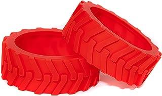 Hexnub Sphero Ollie Monster Tyres Designed for Traction (Red)