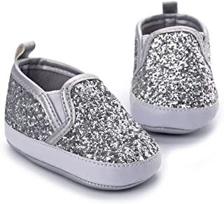 Perfeclan Anti-Slip Super Soft Baby First Walk Shoes Slip On Sneakers