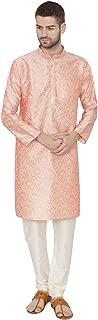 WINTAGE Men's Matka Silk Linen Festive and Casual Kurta Pyjama -2 Colors
