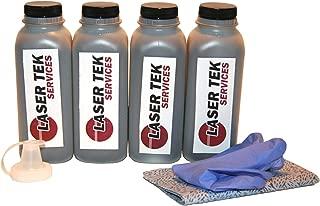 Laser Tek Services® 4 Pack Black Toner Refill Kit for the Canon FX4 FX-4 1558A002AA Fax L800 L900 LaserClass L1000 8500