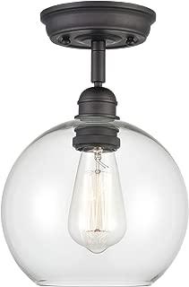 Best globe ceiling light flush Reviews
