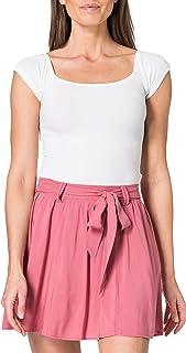 Only Onlnova Life Jasmin Skirt Solid Wvn Falda para Mujer