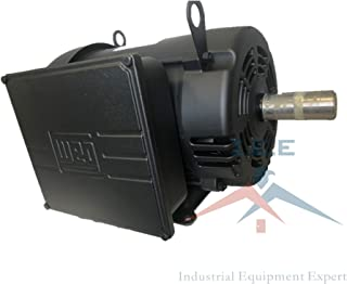 7.5 HP Air Compressor Duty Electric Motor 215T Frame 1760 RPM Single Phase WEG 00718OS1CCD215T