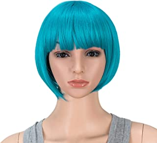 Best turquoise bob wig Reviews