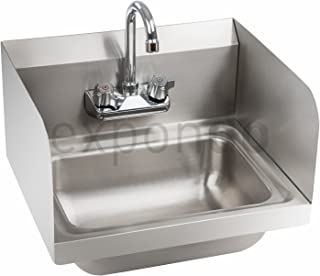 Royal Catering - RCHS-2 - Lavamanos Acero Inoxidable con Grifo