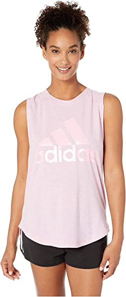 16ffd4ca566ee9 Adidas badge of sport iridescent mesh muscle tank top