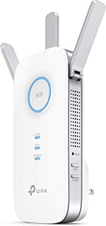 TP-Link AC1750 Wifi Extender, PCMag Editor's Choice, Up to 1750Mbps, Dual Band Wifi Range Extender, Internet Booster, Access Point, Extend Wifi Signal to Smart Home & Alexa Devices (RE450)