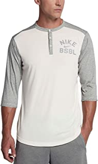 Men's ¾-Sleeve Henley Baseball Top