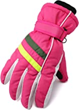 Flammi Women's Ski Gloves Cold Weather Warm Fleece Lined Snowboard Gloves Water-Resistant
