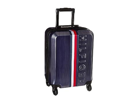 """21"""" Vintage Sport Upright Suitcase, NAVY"""