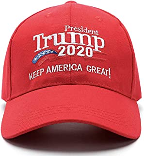 Donald Trump 2020 Hat Keep America Great Embroidered MAGA USA Adjustable Baseball Cap