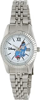 Disney Women's W000586 Eeyore Silver-Tone Status Watch