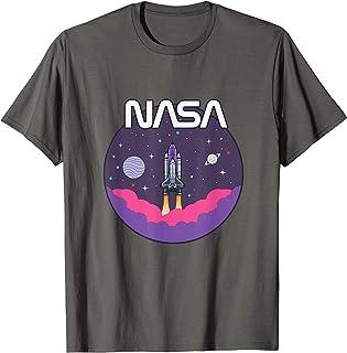 Astronomy NASA Retro Vintage Space Shuttle T-Shirt