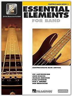 Hal Leonard Essential Elements 2000 Plus DVD Electric Bass Book 1