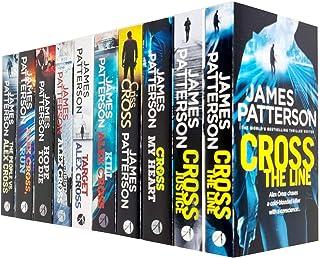 James Patterson Alex Cross Collection 10 Books Set (Cross the Line, Cross Justice, Cross My Heart, Criss Cross, Kill Alex ...