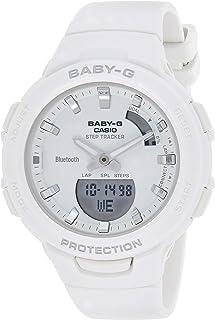 Casio Baby-G Womens Quartz Watch, Analog-Digital Display and Resin Strap - BSA-B100-7ADR