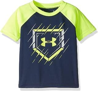 Under Armour Boys' Logo Raglan Tee Shirt