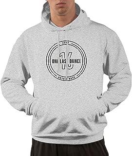 Men's Dwyane Wade One Last Dance Fashion Hooded Sweatshirt Gray
