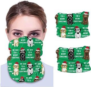 Nother Shih Tzu julhund - grön unisex mikrofiber mode andas bandanas huvudbonad armband