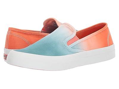 Sperry Seaside Dip-Dye (Orange/Blue) Women