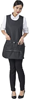"""SMARTHAIR Mesh Adjustable Apron with Pockets Pet Grooming Pro Apron,Waterproof,30.7""""x 19.6"""",Black,A260020"""