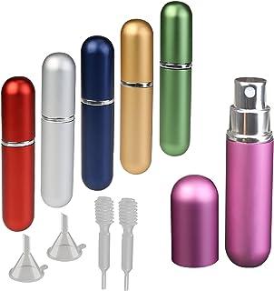 6ml y 6pcs atomizador de perfume de KAKOO botella vacío pulverizador del perfume de atomizadores bomba recargable dosifica...