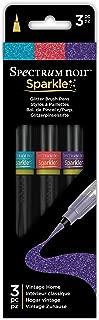 Spectrum Noir Sparkle Glitter Brush Pen Vintage Home, 3 Piece